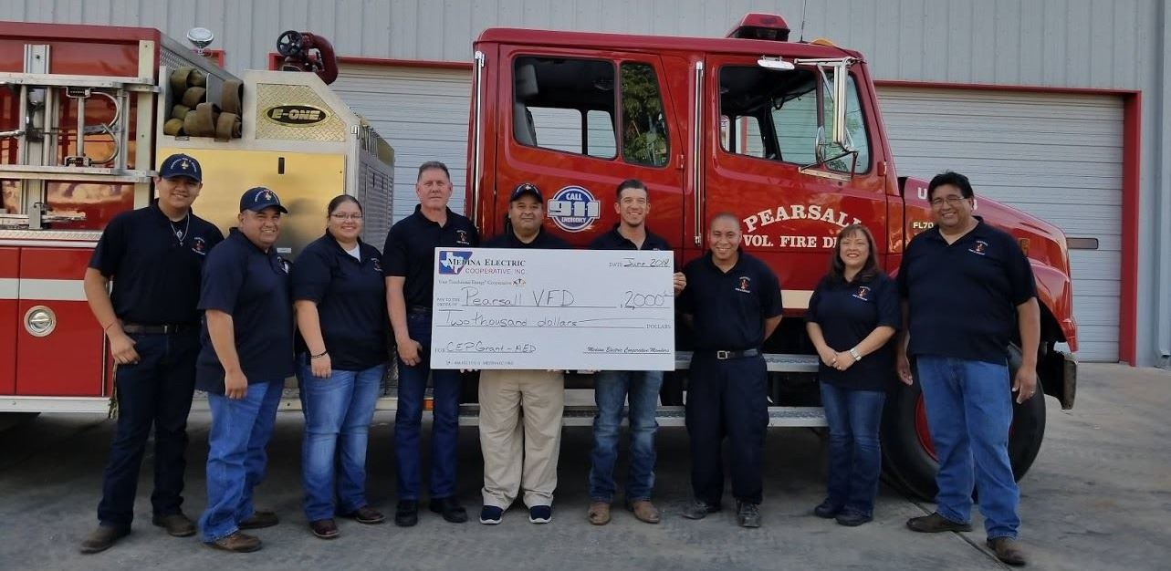 2018 Medina Electric Cooperative Empowerment Grant Award Recipient